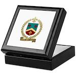 ROUSSEL Family Crest Keepsake Box
