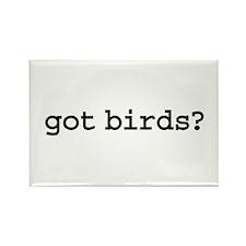 got birds? Rectangle Magnet