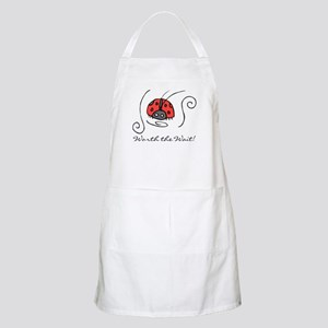 Worth the Wait Adoption BBQ Apron