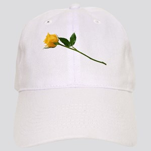 Yellow Rose Cap