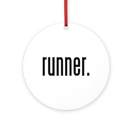 runner. Ornament (Round)