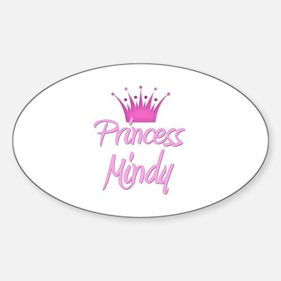 Princess Mindy Oval Decal