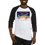XmasSunrise/Fox Ter #1 Baseball Jersey