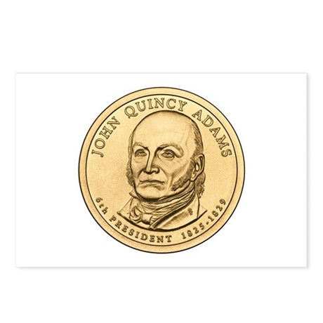 John Quincy Adams Postcards (Package of 8)