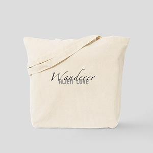 Wanderer Alien Love Tote Bag