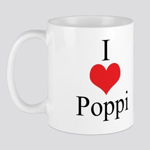 I Love (Heart) Poppi Mug