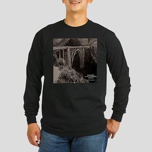 Bixby Bridge Long Sleeve Dark T-Shirt