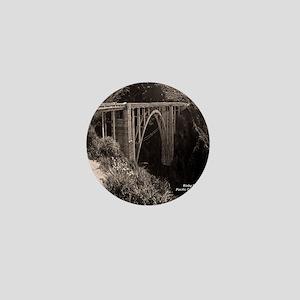 Bixby Bridge Mini Button