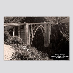 Bixby Bridge Postcards (Package of 8)