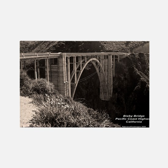 Bixby Bridge Rectangle Magnet