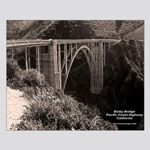 Bixby Bridge Small Poster