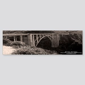 Bixby Bridge Bumper Sticker