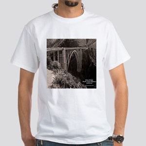 Bixby Bridge White T-Shirt