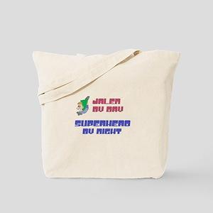 Jalen - Super Hero by Night Tote Bag