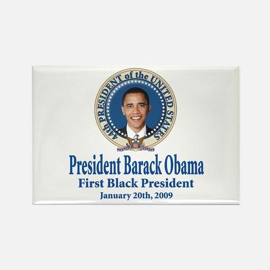 President barack Obama Rectangle Magnet