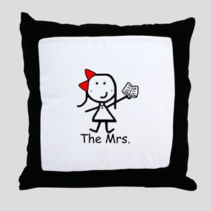 Book - The Mrs. Throw Pillow