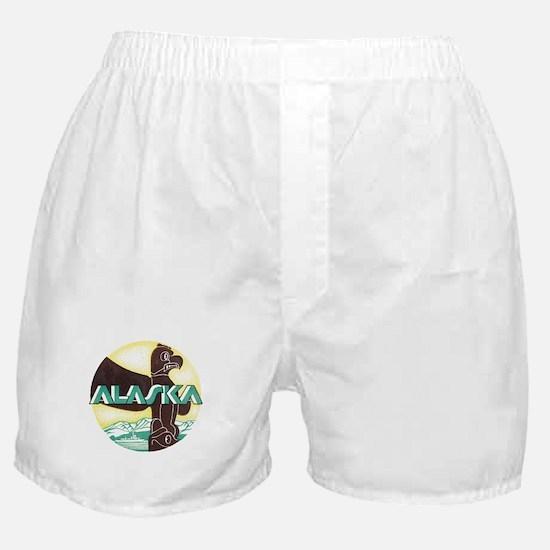Alaska Totem Pole Boxer Shorts