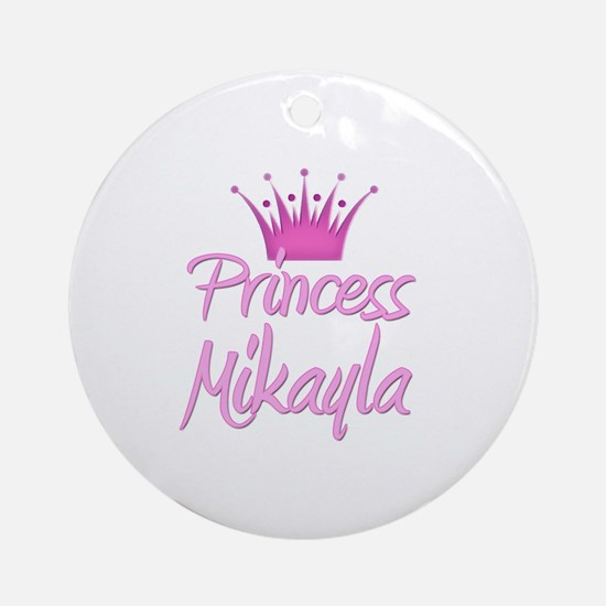 Princess Mikayla Ornament (Round)