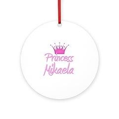 Princess Mikaela Ornament (Round)