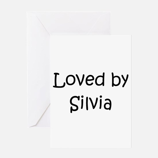 Funny Silvia Greeting Card