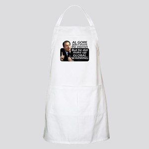 Gore Invented Global Warming BBQ Apron