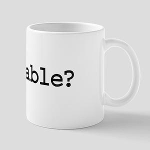 got cable? Mug