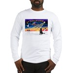 XmasSunrise/Flat Coat Retriev Long Sleeve T-Shirt