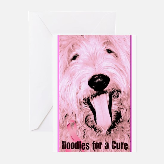 Doodles For a Cure Greeting Cards (Pk of 20)