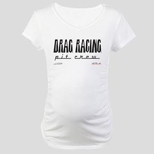 """Pit Crew"" Maternity T-Shirt"