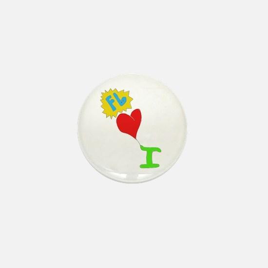 I Heart Florida Mini Button