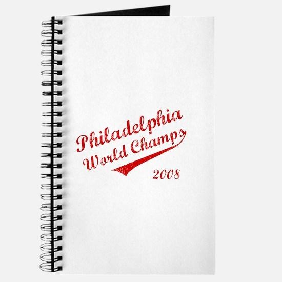 Philadelphia World Champs 2008 Journal