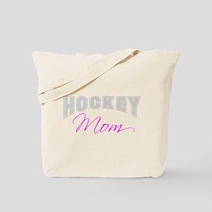 Hockey Mom (grey) Tote Bag