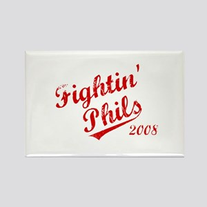 Fightin' Phils 2008 Rectangle Magnet