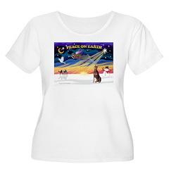 XmasSunrise/Dobbie (red) T-Shirt