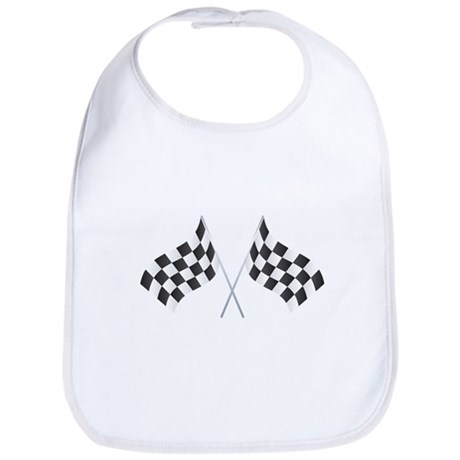 Checkered Flag Bib