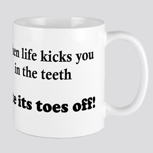 Bite Its Toes Off! Mug