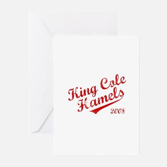 King Cole Hamels 2008 Greeting Cards (Pk of 10)