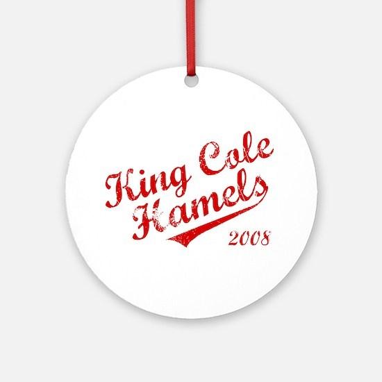 King Cole Hamels 2008 Ornament (Round)
