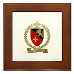 ROY Family Crest Framed Tile