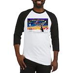 XmasSunrise/Dobbie #1 Baseball Jersey