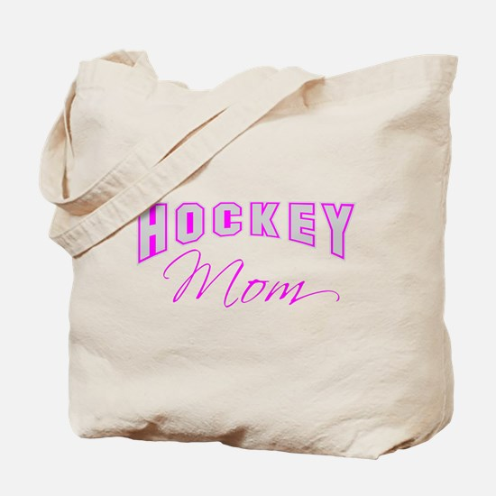 Hockey Mom (pink) Tote Bag