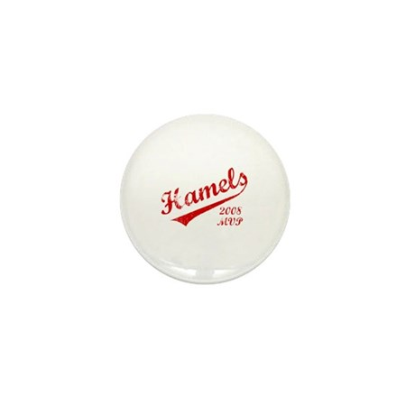 Hamels 2008 MVP Mini Button (100 pack)