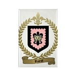 RUEST Family Crest Rectangle Magnet