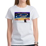 XmasSunrise/Dachshund(bt) Women's T-Shirt