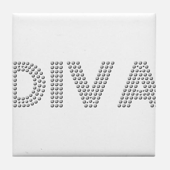 Diva Tile Coaster
