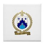 SAINDON Family Crest Tile Coaster