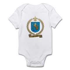 SAUMURE Family Crest Infant Creeper
