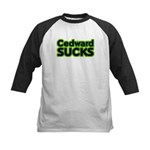 Cedward Sucks Kids Baseball Jersey