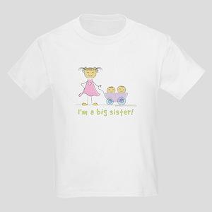 I'm a big sister t-shirt: twins T-Shirt
