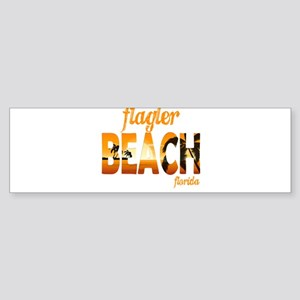 Florida - Flagler Beach Bumper Sticker